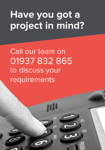 Call our engineering team on 01937 832 865